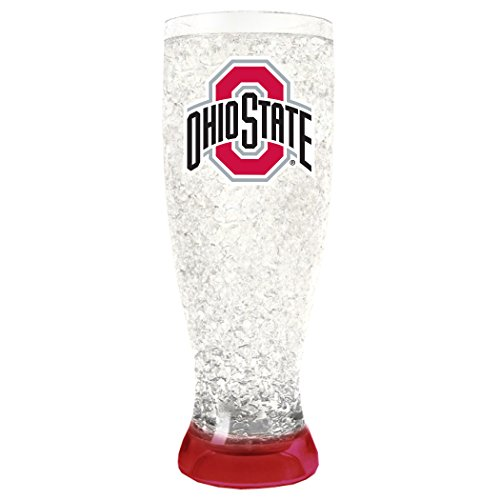 NCAA Ohio State Buckeyes 16oz Crystal Freezer - State Crystal Ohio