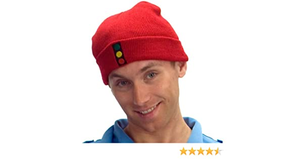 c154e0c6bc6 Amazon.com  MyPartyShirt The Life Aquatic With Steve Zissou Traffic Light  Knit Hat  Clothing
