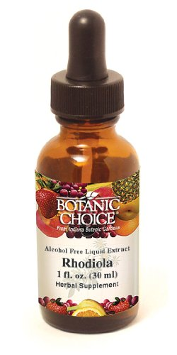 Botanic Choice Alcohol Free Liquid Extract, Rhodiola Root, 1 Fluid Ounce (Pack of 2)