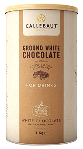 El chocolate caliente con chocolate Callebaut Blanco / Chocolate Belga, 1 kg: Amazon.es: Alimentación y bebidas