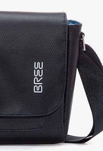 BREE - Bolso al hombro para hombre gris gris 26 cm x 19 cm x 7 cm (B x H x T) azul