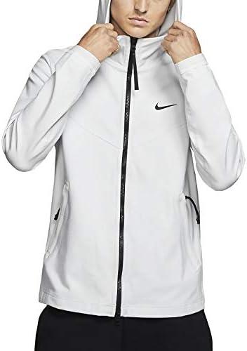 メンズ NSW テックパック ジャケット パーカー フルジップニット Bv4489-094 US サイズ: Medium カラー: ホワイト