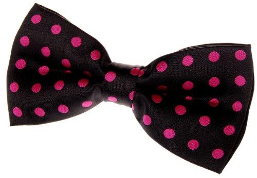 (Retreez Classic Polka Dots Woven Microfiber Pre-tied Bow Tie (5