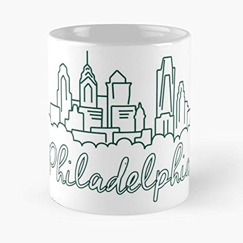 (Philadelphia Pennsylvania Rich History - Coffee Mugs Unique Ceramic Novelty Cup)