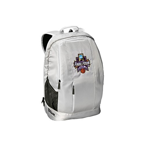 - Wilson Sporting Goods NCAA Women's Final Four Backpack, Gray, 23x15