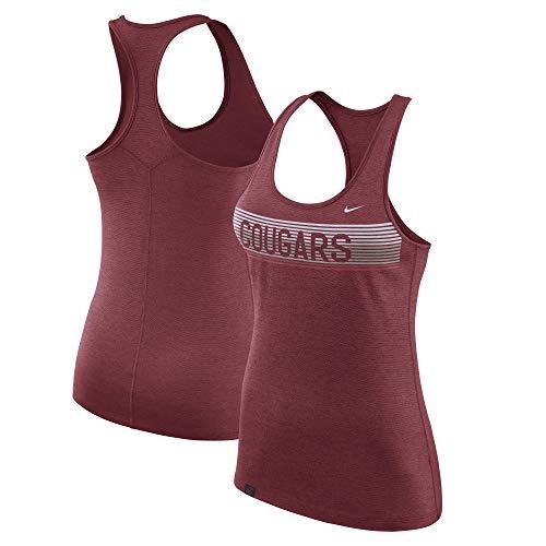 Nike Washington State Cougars Dri-Fit Women's Racerback Performance Tank Top (X-Large)