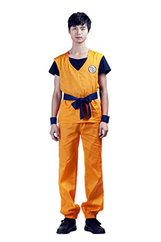 Mtxc Men's Dragon Ball Cosplay Costume Son Goku 2nd Ver