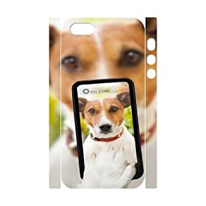Dog CHA6026329 3D Art Print Design Phone Back Case Customized Hard Shell Protection Iphone 5,5S