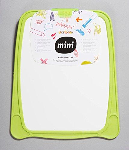 Scribble Mini Kids Hand Held Double Sided Whiteboard in Green MWBG