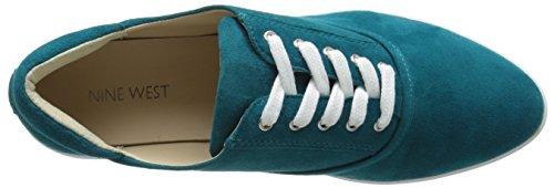West Blue Fashion Nine Limbo Women's Green Suede Sneaker AgYwqUBd