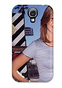 Christmas Gifts Tpu Fashionable Design Mandy Moore People Women Rugged Case Cover For Galaxy S4 New 8682959K70595855