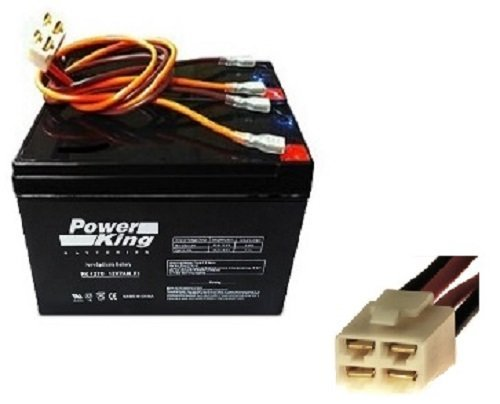 Battery Wiring Harness - High Performance Rechargeable Razor E200 Batteries and Wiring Harness (Chain-Drive Models) - Versions 8-12. Replacement Batteries For: Razor E200 (Chain-Drive Models) - Versions 8-12, Razor E300 E32