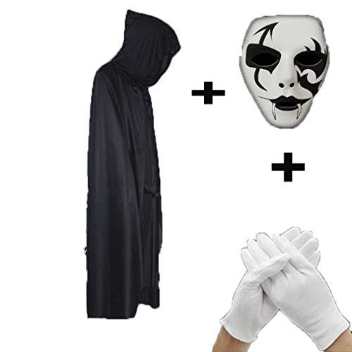 Cosplay Mask Men's Makeup Ball Adult Mask Death Prop Halloween Mask
