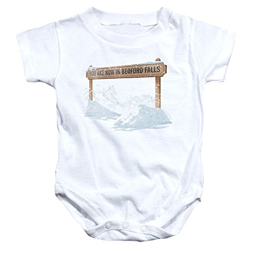 Bedford Falls -- It's A Wonderful Life Infant One-Piece Snapsuit, 6 Months