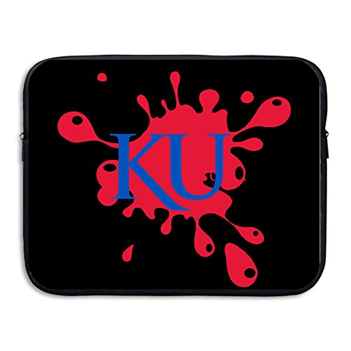 Custom Geek University Of Kansas KU Anti-shock Notebook Sleeve Bag 13 - Jersey Pre Game Galaxy La