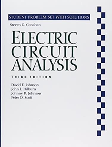 electric circuit analysis 3e student problem set and solutions rh amazon com