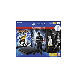 Playstation 4 (PS4) – Consola 1TB + Ratchet & Clank + The Last of Us + Uncharted 4 41ff5ckNw9L