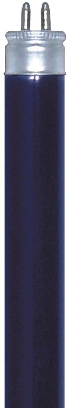 Satco S6406 8-Watt Mini Bi Pin T5 Preheat Lamp Black Light Blue Satco Products
