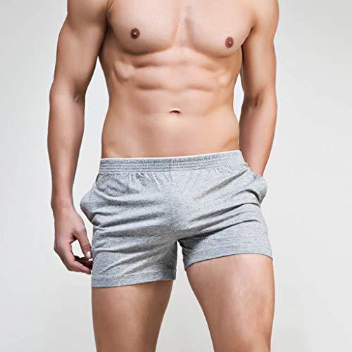 Underwear Holywin Traspirante Pouch Cotone Brand Grigio Morbido Uomo Stampa PFdrZFnqTw