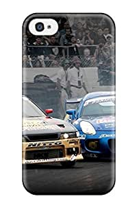 Iphone 4/4s Case, Premium Protective Case With Awesome Look - Attractive Free Import Car Drifting Formula