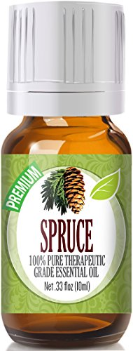 Spruce 100% Pure, Best Therapeutic Grade Essential Oil - 10ml