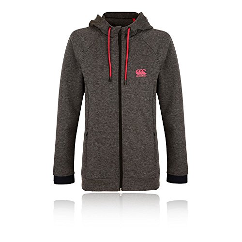 Interlock Ladies Zip Through Hoody - Sky Captain Marl Gris