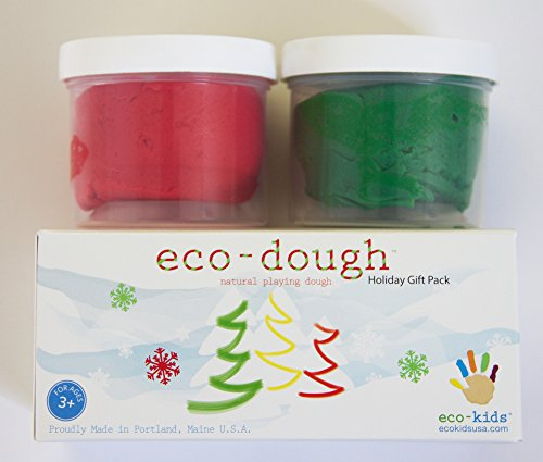 eco-kids Eco-Dough Holiday Gift, 2 Count made in New England