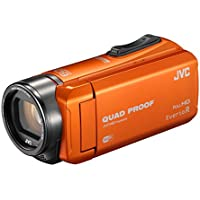 JVC video camera Everio R Wi-Fi support built-in memory 64GB GZ-RX600-D (Orange)