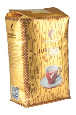 Meinl Coffee Jubiläum Whole Beans, 5 Packages With Each 500 Grams, Total 2.5 Kilograms