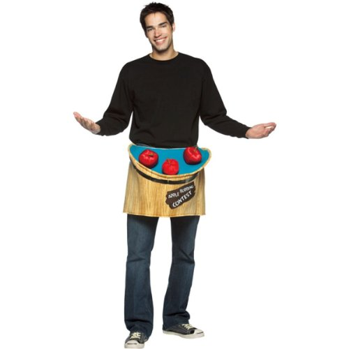 Bobbing For Apples Costumes (Bobbing for Apples Adult Costume Accessory - One Size)