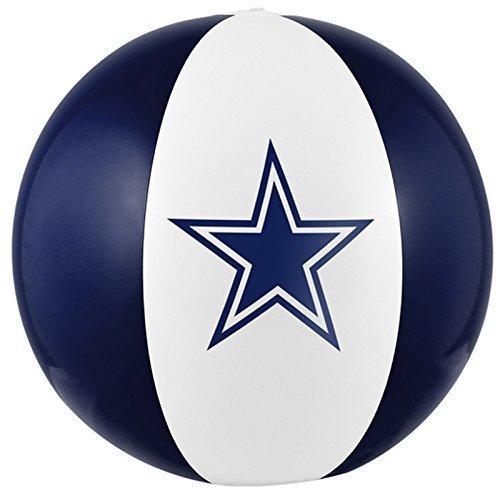 Dallas Cowboys 16 Beach Ball Team Colors & Logo Vinyl Pool Party Football - Logo Balls Beach With