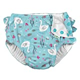 i play. by green sprouts baby girls Ruffle Snap