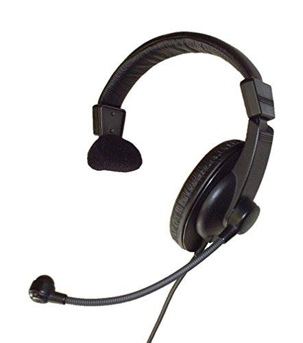 SHiROSHiTA Professional Lightweight Single-ear Headset with Flexible Boom Mic