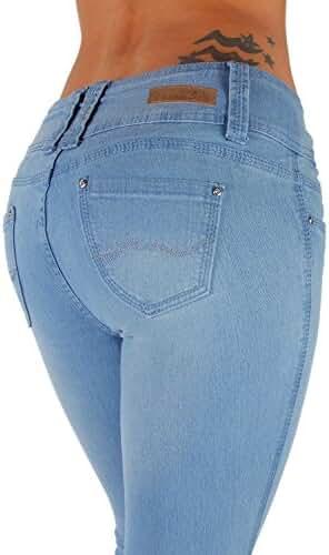 Style B925K– Colombian Design, Butt Lift, Levanta Cola, Skinny Jeans