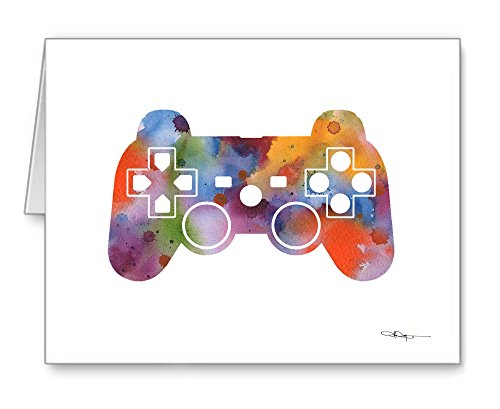 Game Controller - Set of 10 Note Cards With Envelopes