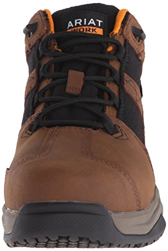 Boot Contender Brown Work Toe Steel Ariat Women's wCXqWR