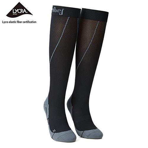 - ZubeJ Compression Socks for Women & Men (20-30mmHg) Sports Knee High-Premium Medical Graduated Compression Stockings,Athletic Fit for Running,Varicose Veins,Travel,Pregnancy,Shin Splints