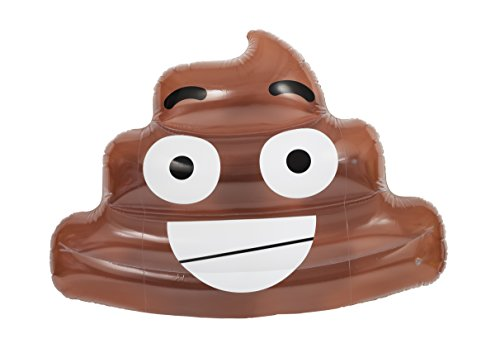 Pop Fix Giant Inflatable Ultimate Floater Poo Emoji Float