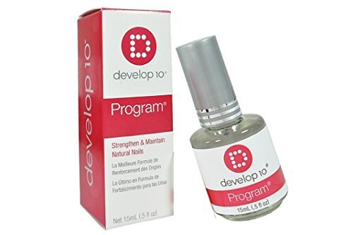 Hurry Up Nail Dryer (Develop 10 Nail Polish Treatment Program is an exclusive nail strengthening formula with proteins and conditioners - Size 0.5 fl oz. / 15 ml)