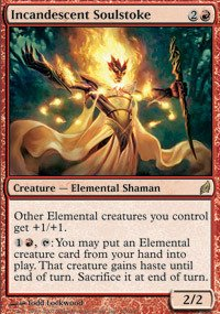 Magic: the Gathering - Incandescent Soulstoke - Lorwyn - Foil