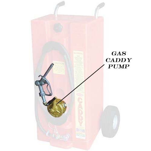 Todd Automotive 240-02 28 Gallon Top Bung Gas Caddy Pump Kit