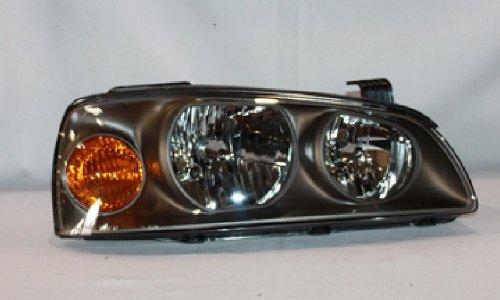 Fits Hyundai Elantra 04 05 06 Head Light Lamp With Bulb 92102-2D550 921022D550 R