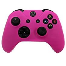 HDE Xbox One Controller Skin Protective Silicone Gel Rubber Grip Cover for Wireless Gaming Controllers (Pink)
