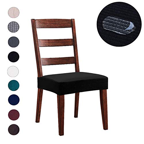 dining chair seat covers set of 4 - 8