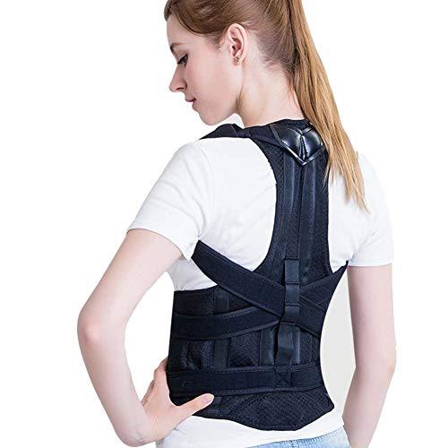 Tipo Fuerte Corrector de Postura para Mujer e Hombres Mejorar Postura y Aliviar Dolor,Apoyo para la Espalda Espinal y el...