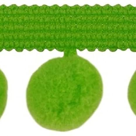 20 Colours C XL Size 2Cm HomeBuy XL Pom Pom Bobble Trim Fringe Trimming Baby Pink Per Metre 0.8 Inches