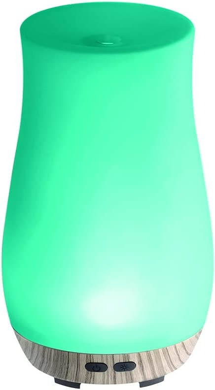 Homedics Teal Ultrasonic Aroma Diffuser - Essential Oil Aromatherapy
