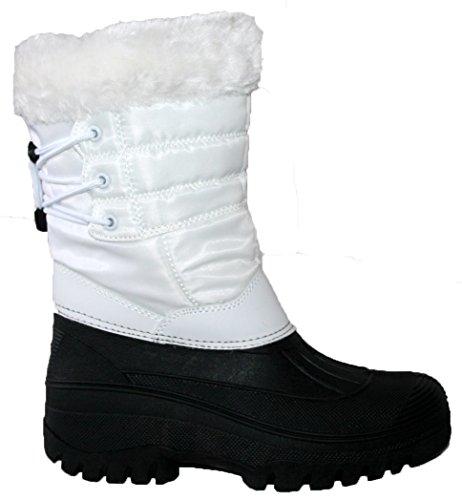 Groundwork - Zapatillas altas mujer blanco