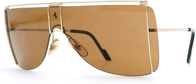 Ferrari 20 524 Gold Authentic Men Vintage Sunglasses Amazon