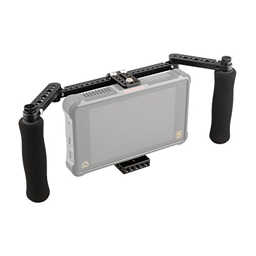 CAMVATE Monitor Cage with Adjustable Handles for 5 inch and 7 inch LCD Monitors by CAMVATE